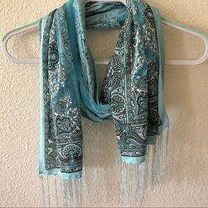 Accessories - Tiffany blue scarf/shawl